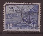 Sellos de Europa - Noruega -  aniv. de la constitución