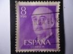 Stamps Spain -  General: Francisco Franco - Serie:General Francisco Franco (1955-1975).