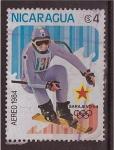 Sellos de America - Nicaragua -  sarajevo'84