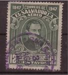 Stamps El Salvador -  manuel jose arce