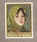 Sellos de Europa - Rumania -  Cuadro por I. Andreescu