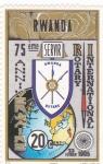 Stamps Rwanda -  75 Aniversario
