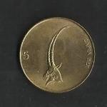 monedas de Europa - Eslovenia -  Cabra / anverso.