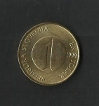 monedas de Europa - Eslovenia -  Truchas / reverso.
