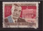 Stamps Uruguay -  Centenario de su muerte Oscar D. Gestido