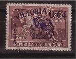 Stamps Uruguay -  correo aéreo