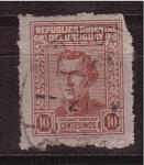 Sellos de America - Uruguay -  General Artigas