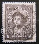 Stamps Chile -  Colon