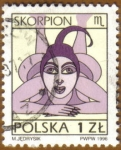 Stamps Europe - Poland -  ESCORPION