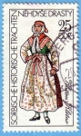 Stamps Germany -  Sorbische Historische Trachten