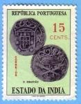 Stamps : Asia : India :  Monedas