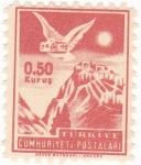 Stamps Turkey -  Paloma Mensajera