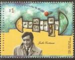 Stamps Argentina -  JULIO  CORTÀZAR
