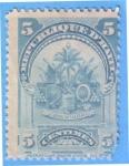 Stamps : America : Haiti :  Escudo de Armas