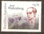 Stamps Argentina -  RAOUL  WALLENBERG