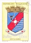 Stamps Madagascar -  ESCUDO DE ARTSIRABE