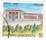 Sellos de Europa - Grecia -  Arquitectónico