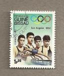 Stamps Guinea Bissau -  Juegos Olímpicos Los Angeles 1932