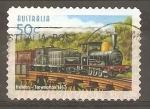 Stamps Australia -  150  ANIVERSARIO  DE  LÌNEAS  FERREAS  AUSTRALIANAS