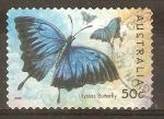 Sellos de Oceania - Australia -  ULYSSES  BUTTERFLY