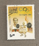 Stamps Africa - Guinea Bissau -  Juegos Olímpicos Los Angeles 1932