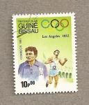 Sellos de Africa - Guinea Bissau -  Juegos Olímpicos Los Angeles 1932