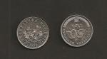 monedas de Europa - Croacia -  50 lipas