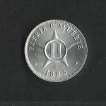 monedas de America - Cuba -  Patria o Muerte / anverso.
