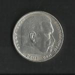 monedas del Mundo : Europa : Alemania :  Hindenburg / Third Reich / anverso.