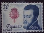 Sellos de Europa - España -  Ed:2553- Felipe II- Rey de España, Casa de Austria