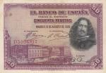 monedas del Mundo : Europa : España :  II REPÚBLICA - Velazquez
