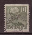 Sellos de Europa - Suecia -  gutaf V