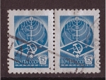 Stamps Russia -  correo postal