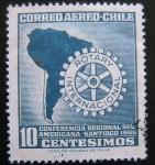 Stamps Chile -  Rotary Internacional