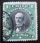 Stamps : America : Chile :  A. Pinto