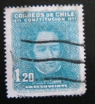 Stamps : America : Chile :  Centenario Constitucion