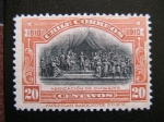 Stamps : America : Chile :  Abdicacion de O Higgins
