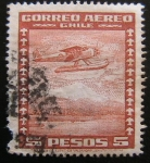 Stamps : America : Chile :  Aereo