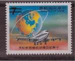 Sellos de Asia - China -  correo aéreo