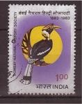 Sellos de Asia - India -  sociedad de historia natural de bombay