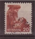Sellos de Asia - India -  Correo postal