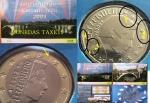 monedas de Europa - Luxemburgo -  Luxemburgo 2003- doble error en blister