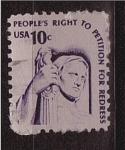 Sellos de America - Estados Unidos -  derechos del pueblo