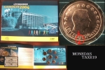 monedas de Europa - Luxemburgo -  Luxemburgo 2004- error en blister