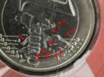 monedas de Europa - Malta -  Malta 2008- 1€ con error en mapa. Blister