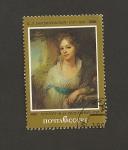 Stamps Russia -  Retrato de una dama