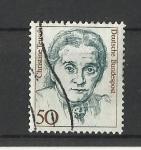 Sellos de Europa - Alemania -  Mujeres Famosas