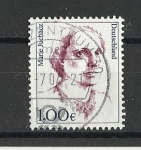 Stamps : Europe : Germany :  Mujeres Famosas
