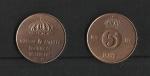 monedas de Europa - Suecia -  Gustavo AdolfoVI