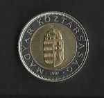 monedas del Mundo : Europa : Hungría :  Escudo Oficial./ anverso